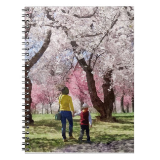 Lovely Spring Day For a Walk Notebooks
