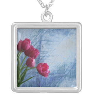 Lovely Square Pendant Necklace