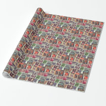 Lovely Stamps Gift Wrap