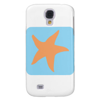 Lovely Starfish Icon Galaxy S4 Case