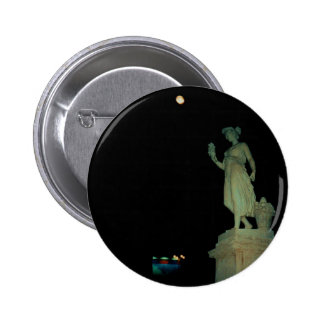 Lovely Statue Girl 2 Inch Round Button