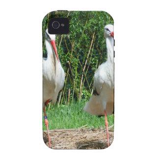 Lovely Stork iPhone 4 Cover