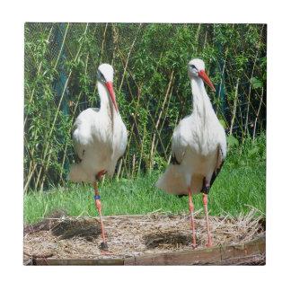 Lovely Stork Tiles