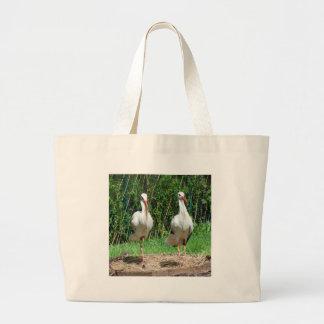 Lovely Stork Tote Bag