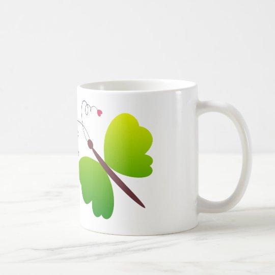 Lovely summer butterflies design coffee mug