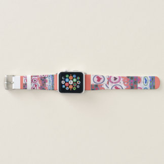 Lovely Summertime Forever Love Hearts Apple Watch Band