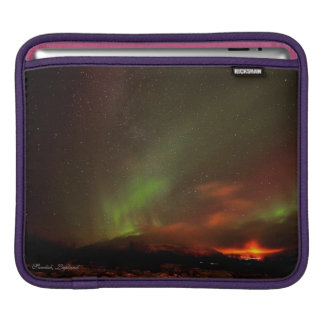 Lovely Swedish Lights- iPad pad Horizontal Sleeve For iPads