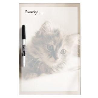 Lovely Sweet Cat Kitten Kitty Dry-Erase Board