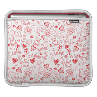 LOVELY SWEET HEART FOR İPAD SLEEVES FOR iPads