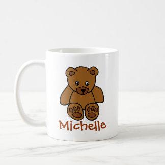 Lovely teddybear classic white coffee mug
