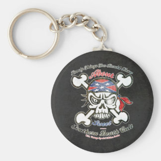 Lovely Things About Southern Death Cult Basic Round Button Keychain