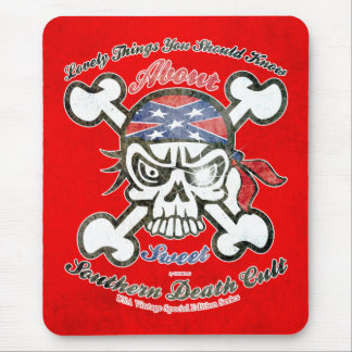 Lovely Things About Southern Death Cult Mouse Pad