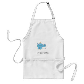 lovely things adult apron