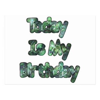 Lovely Today Is my Birthday Hakuna Matata.png Postcard