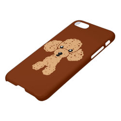 iPhone 7 Case with Poodle Phone Cases design