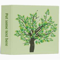 Lovely Tree 3 Ring Binder
