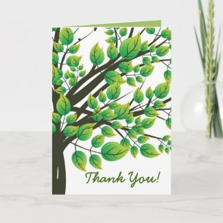 Lovely tree card