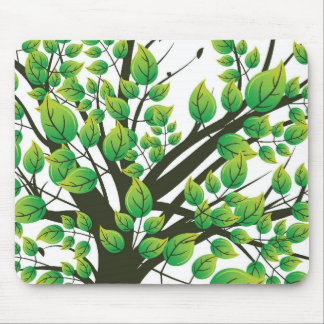 Lovely tree mouse pad