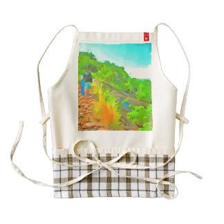 Lovely trek zazzle HEART apron