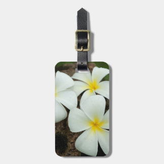 Lovely Tropical Blossoms In The South Pacific Luggage Tag