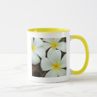 Lovely Tropical Blossoms In The South Pacific Mug