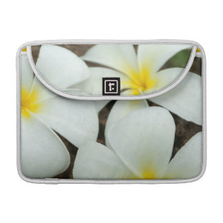 Lovely Tropical Blossoms In The South Pacific Sleeve For MacBook Pro