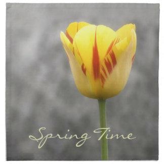 Lovely Tulip American MoJo Napkin