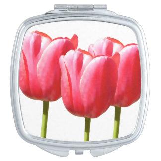 Lovely Tulip Trio Vanity Mirrors