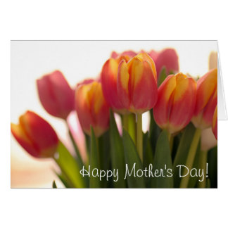 Lovely tulips for mothers card