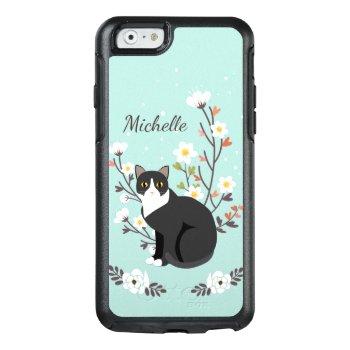Lovely Tuxedo Cat Iphone 6 Symmetry Series by kazashiya at Zazzle