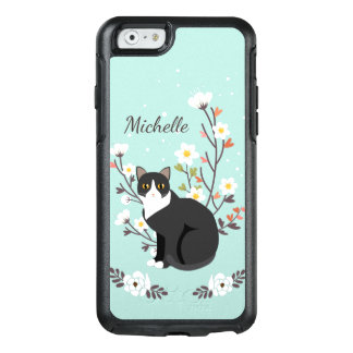 Lovely Tuxedo Cat iPhone 6 Symmetry Series OtterBox iPhone 6/6s Case