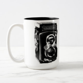 Lovely Two Tone Camera mug