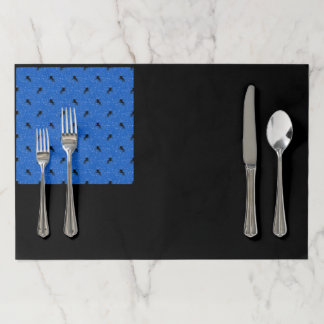 Lovely Unicorn pattern Paper Placemat