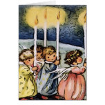 Lovely vintage Angels Greeting Card