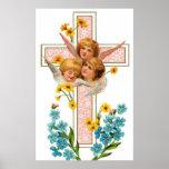 Lovely Vintage Angels Print