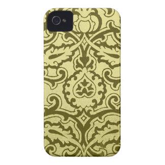 Lovely Vintage Damask (3) iPhone 4 Case-Mate Case