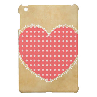 Lovely Vintage Heart Cover For The iPad Mini
