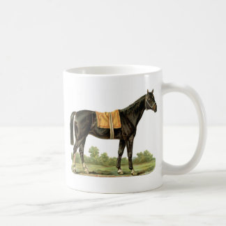 Lovely Vintage Horse Stallion art Coffee Mug