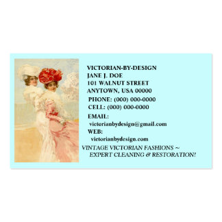 LOVELY VINTAGE VICTORIAN FASHIONS ~ BUSINESS CARDS