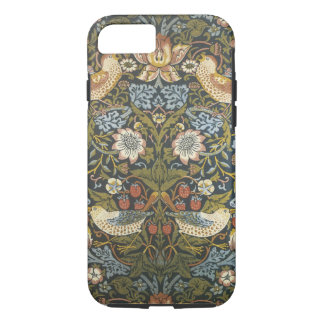 lovely vintage william morris floral and birds iPhone 8/7 case