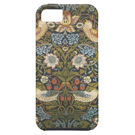 lovely vintage william morris floral and birds iPhone SE/5/5s case
