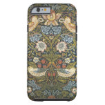lovely vintage william morris floral and birds iPhone 6 case