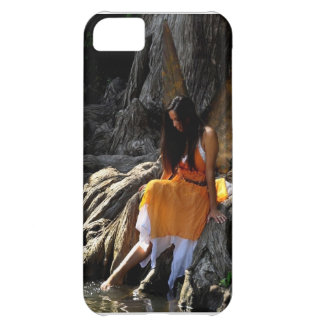 Lovely Water Fairy in Orange iPhone 5 Case