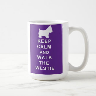 Lovely Westie Keep Calm Walk Westie Mug Birthday