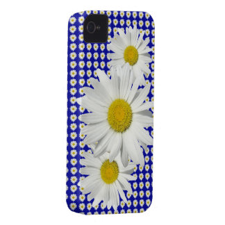 Lovely White Daisy Garden iPhone 4 Case