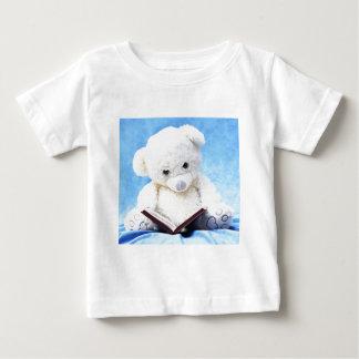 Lovely White Teddy Bear Read Book T-shirt