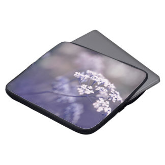 Lovely Wild Chervil Laptop Sleeve