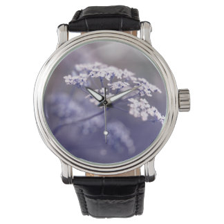 Lovely Wild Chervil Wrist Watches