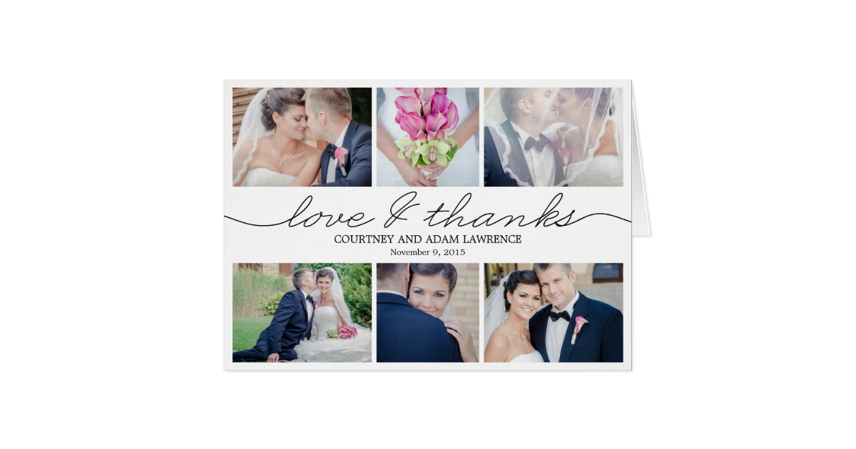 Wedding Thank You Cards – Writing Wedding Thank You Cards Examples