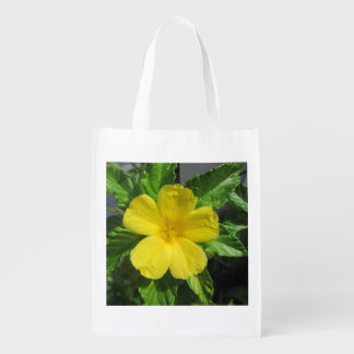 Lovely Yellow Adler Grocery Bags